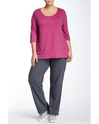 Balance Collection | Gray Lounge Pant (plus Size) | Lyst