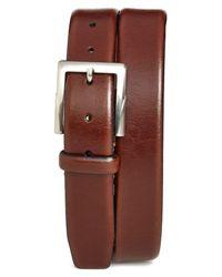 Trafalgar - Brown 'rafferty' Leather Belt for Men - Lyst