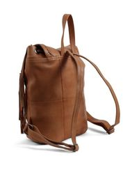 Day & Mood | Brown Anna Leather Backpack | Lyst