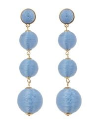 BaubleBar - Blue Criselda Ball Shoulder Duster Earrings - Lyst