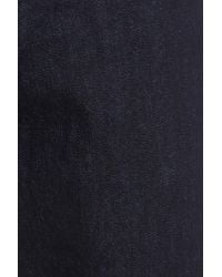 Topman - Blue Stretch Slim Fit Raw Denim Jeans for Men - Lyst