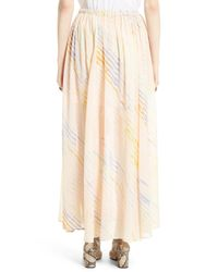 Free People - White True To You Maxi Skirt - Lyst