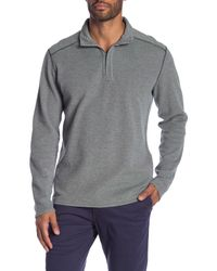 Tommy Bahama - Gray Reversible Long Sleeve Sweater for Men - Lyst