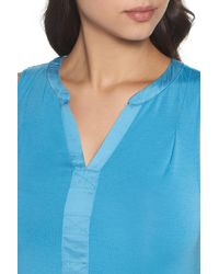 Midnight By Carole Hochman - Blue Ballet Nightgown - Lyst