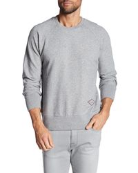 Rag & Bone - Gray Embroidered Logo Pullover for Men - Lyst