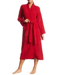 Natori - Red Knit Robe - Lyst