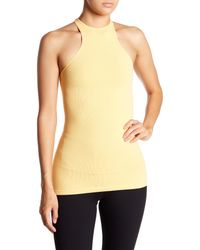 Free People - Yellow Heart Is Racing Tank Top - Lyst
