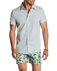 Parke & Ronen - Multicolor Printed Short Sleeve Regular Fit Shirt for Men - Lyst