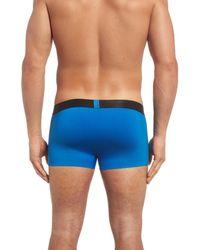 Calvin Klein - Blue Edge Microfiber Trunks for Men - Lyst