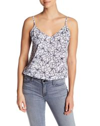 Joe Fresh | Blue Print Cami | Lyst