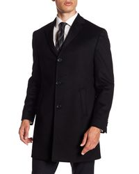 John Varvatos Black Welsh Solid Cashmere Jacket for men