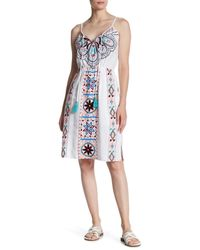 Plenty by Tracy Reese - White Embroidered Dress - Lyst