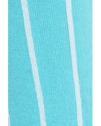 Paul Smith - Blue Edna Pinstripe Crew Socks - Lyst
