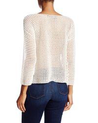 360cashmere - White Kara Knit Cashmere Pullover - Lyst