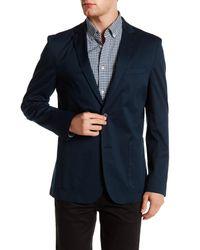 Vince Camuto | Blue Two Button Notch Lapel Jacket for Men | Lyst
