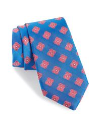Nordstrom - Blue Cameron Floral Medallion Silk Tie (x-long) for Men - Lyst