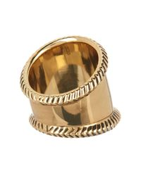 House of Harlow 1960 - Metallic Tambo Textured Ring - Size 7 - Lyst