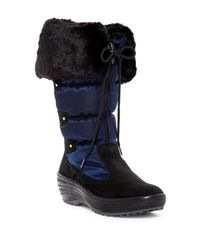 Pajar Black Mia Faux Fur Trimmed Boot