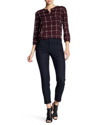 NYDJ - Blue Clarissa Colored Stretch Ankle Skinny Jeans - Lyst