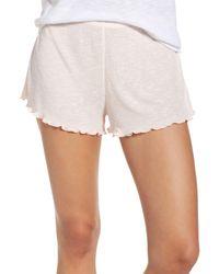 Make + Model - Pink Lounge Shorts - Lyst