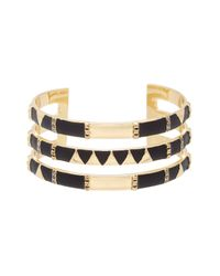 House of Harlow 1960 - Black Nelli Cuff Bracelet - Lyst