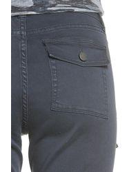 Caslon - Gray Caslon Slim Utility Pants - Lyst