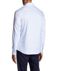 Slate & Stone - Blue Long Sleeve Button Pattern Shirt for Men - Lyst