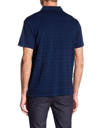 7 Diamonds - Blue Vale Spread Collared Tee for Men - Lyst