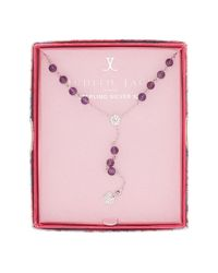 Judith Jack - Pink Inspire Me Boxed Heart Pendant Y-necklace - Lyst