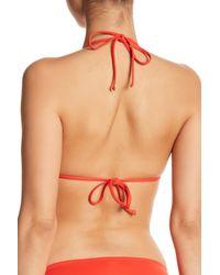 Tommy Bahama Multicolor Pearl Triangle Cup Bikini Top