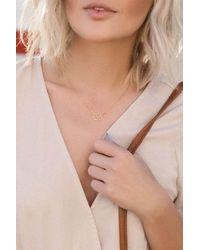 Liza Schwartz - Metallic Sterling Silver Om Necklace - Lyst