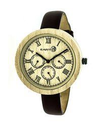 Earth Wood   Metallic Unisex Brush Watch   Lyst