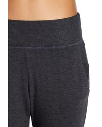 Alo Yoga | Gray Luna Terry Sweatpants | Lyst