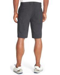 Travis Mathew - Black 'hefner' Stretch Golf Shorts for Men - Lyst