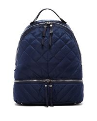 Sam Edelman Blue Penelope Quilted Backpack