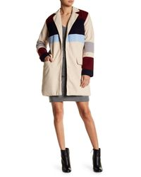 Endless Rose Natural Olivia Colorblock Jacket