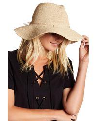 Helen Kaminski | Natural Sefa Woven Hat | Lyst