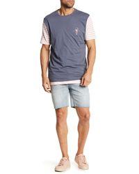 Barney Cools - Blue B.line Fray Hem Jean Shorts for Men - Lyst