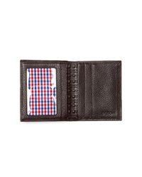 Boconi - Brown Compact Leather Wallet for Men - Lyst
