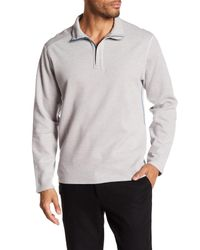 Tommy Bahama - Gray Reversible Long Sleeved Sweater for Men - Lyst