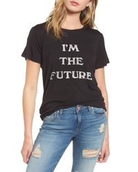 Daydreamer - Black I'm The Future Graphic Tee - Lyst