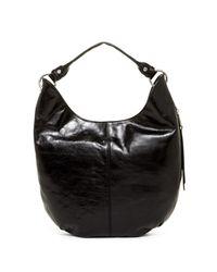 Hobo   Black Gardner Leather Convertible Clutch/crossbody   Lyst