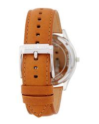 MICHAEL Michael Kors - Multicolor Men's Slim Runway Leather Strap Watch for Men - Lyst