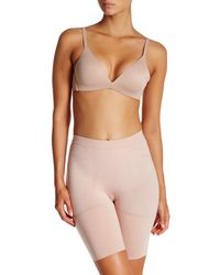 Spanx - Pink Mid Thigh Short - Lyst
