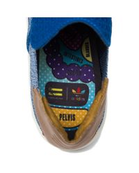 Adidas Originals - Multicolor Pharrell Williams Slip-on In Blue Multi for Men - Lyst