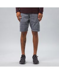 Nike - Gray Tech Knit Shorts In Grey for Men - Lyst