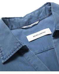 Mauro Grifoni - Blue Top-s/m- - Lyst