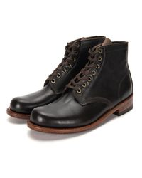 Julian Boots - Brown Bedford Boot for Men - Lyst