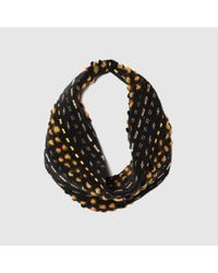 Mignonne Gavigan   Kate Necklace In Black And Gold   Lyst