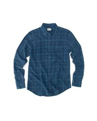 Faherty Brand - Blue Ventura Sport Shirt for Men - Lyst
